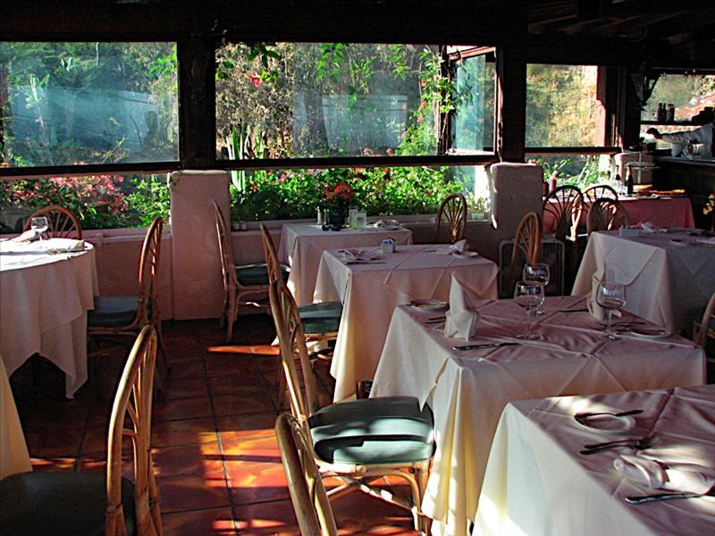 Beau Rivage Restaurant in Malibu