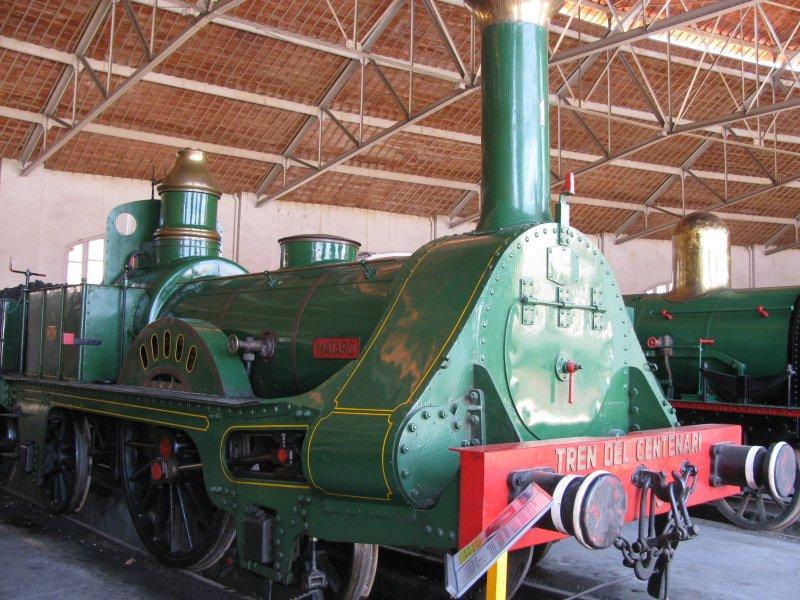 .. Vilanova railway museum.