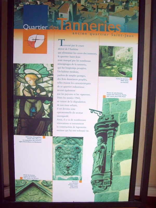 Riom各區的歷史簡介