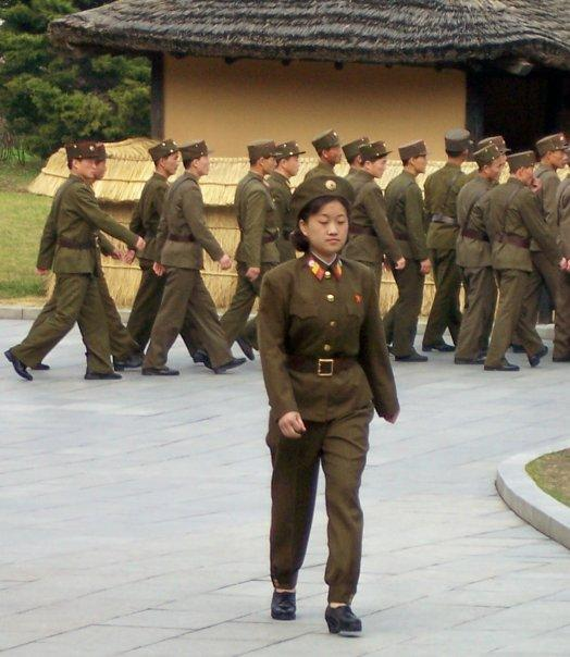 ARMY CADETS, MANGYONGDAE, BIRTHPLACE OF KIM IL SUNG
