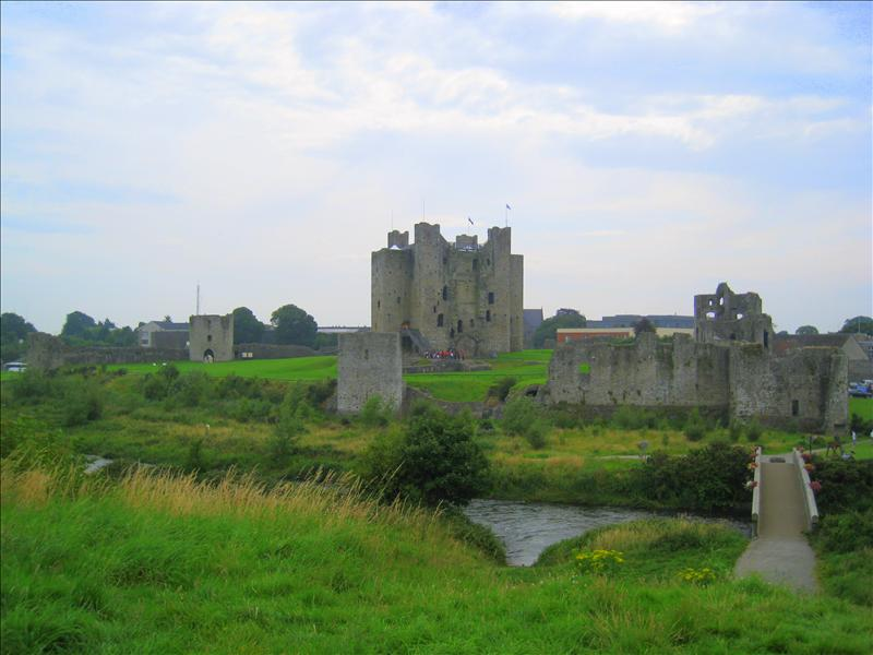 Trim Castle - used in Braveheart!