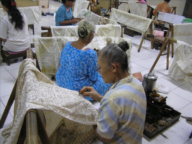 Batik Tulis--hand drawn batik