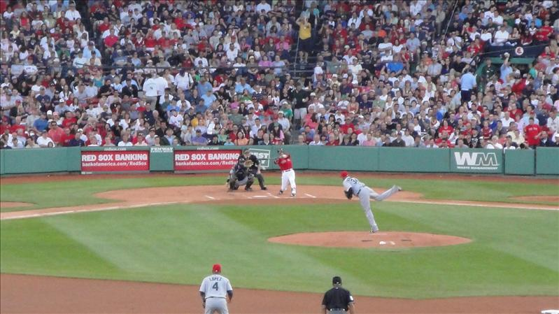 "Pedroia...he looks even shorter than 5'8"" in person"