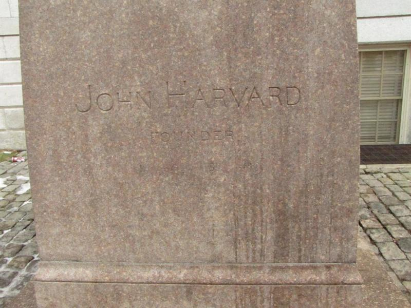 John Harvard, Harvard University, Boston, MA