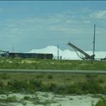 Bonnieville Salt Flats Out Side of Salt Lake City UT Morton Salt Plant