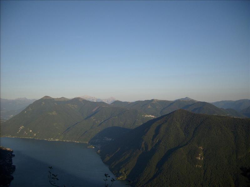 lago di Lugano•vista dal Sasso Rosso•2009