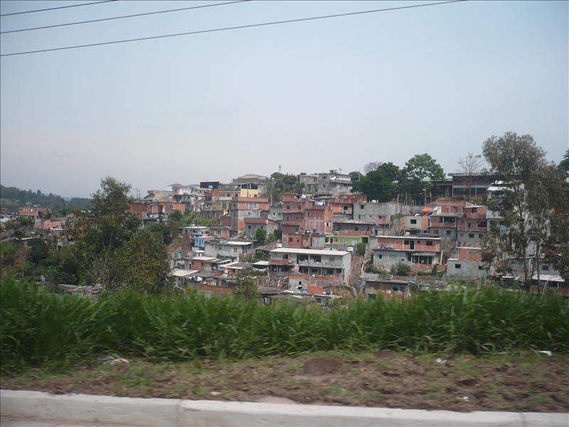 "favela (""Ghetto"") in Brasil"