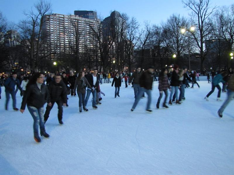 Boston Common - Frog Pond
