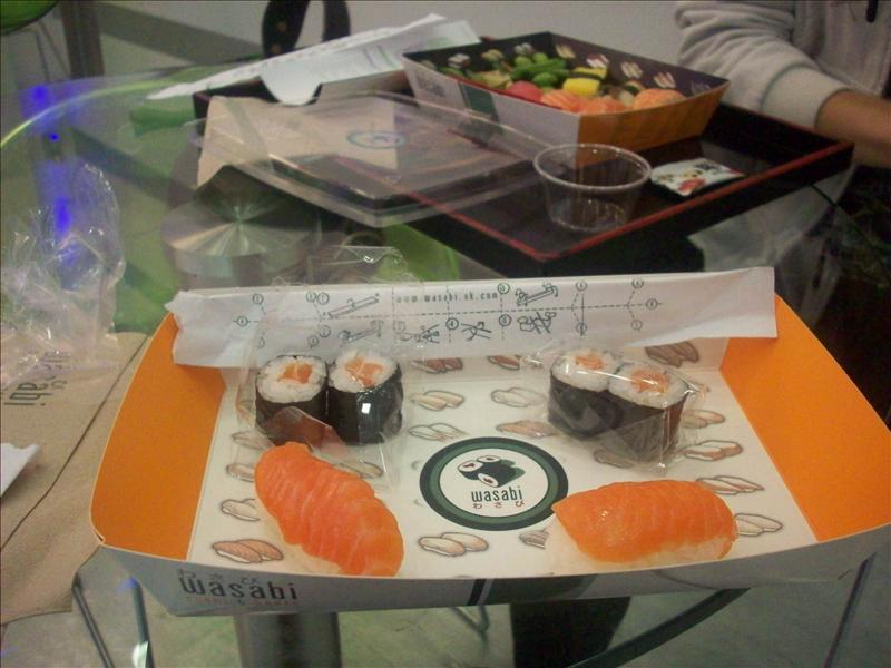What I had :) Salmy sammy salmon.