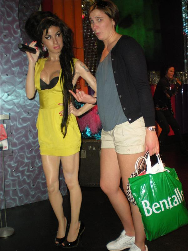 Amy Winehouse, Madame Tussaude's Wax Museum - 20th May