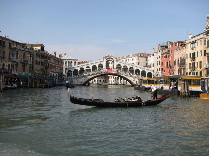 .. with gondola ferry.