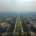 from washington monument, east view (US Capital)