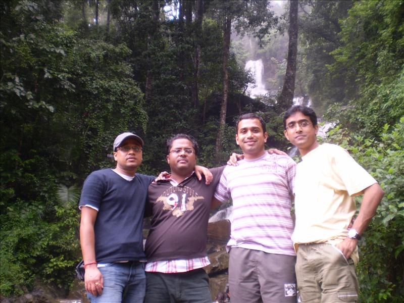Binod,Rudra,Ashlesh and Dipankar