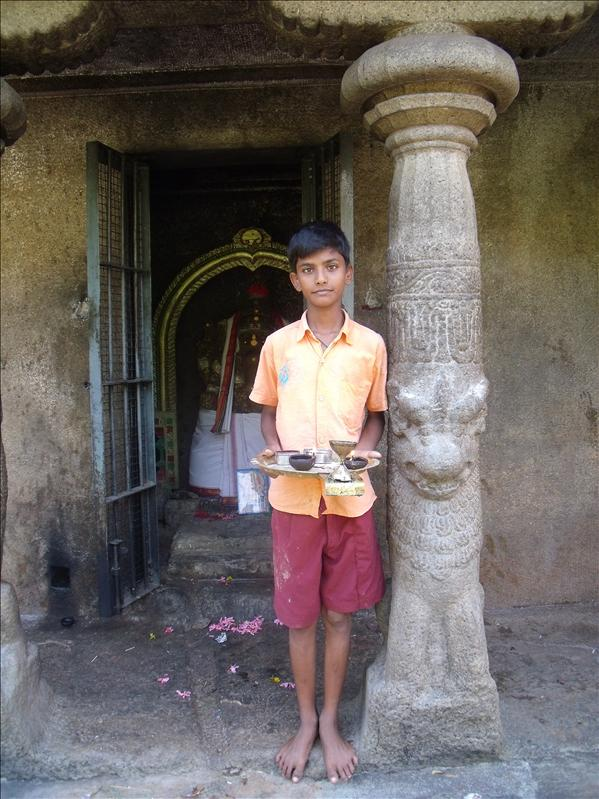 Temple kid, Mahabalapuram
