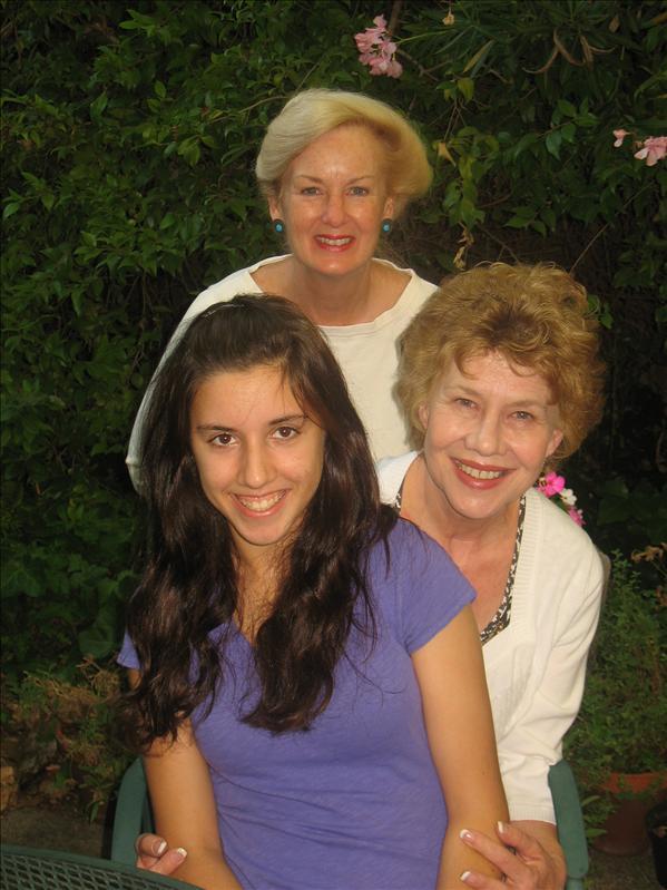 Aunt Nancy, Nonna & Gia