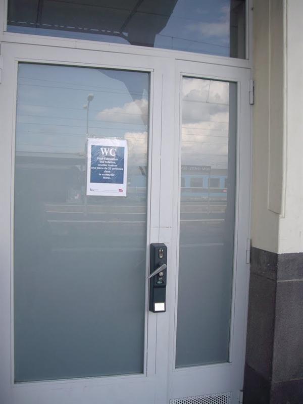 火車站的廁所也要付費才能用