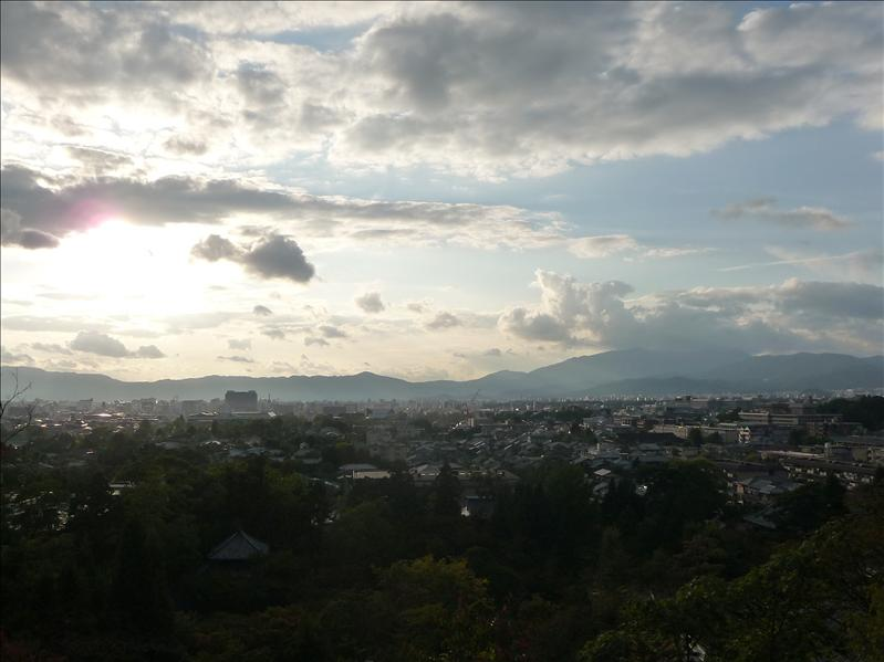 6.10.2008, View about Kyoto