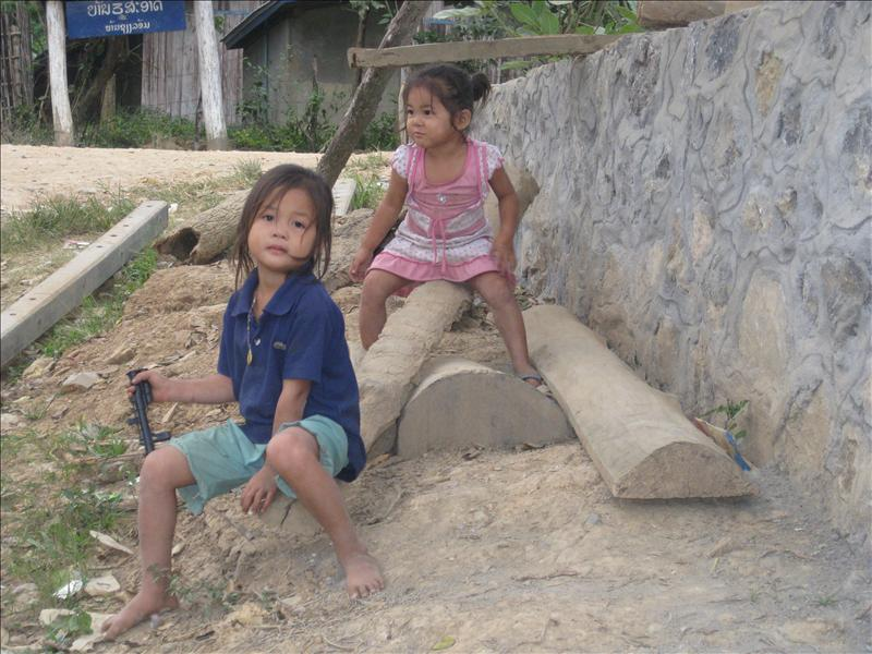 Lao version of a seesaw