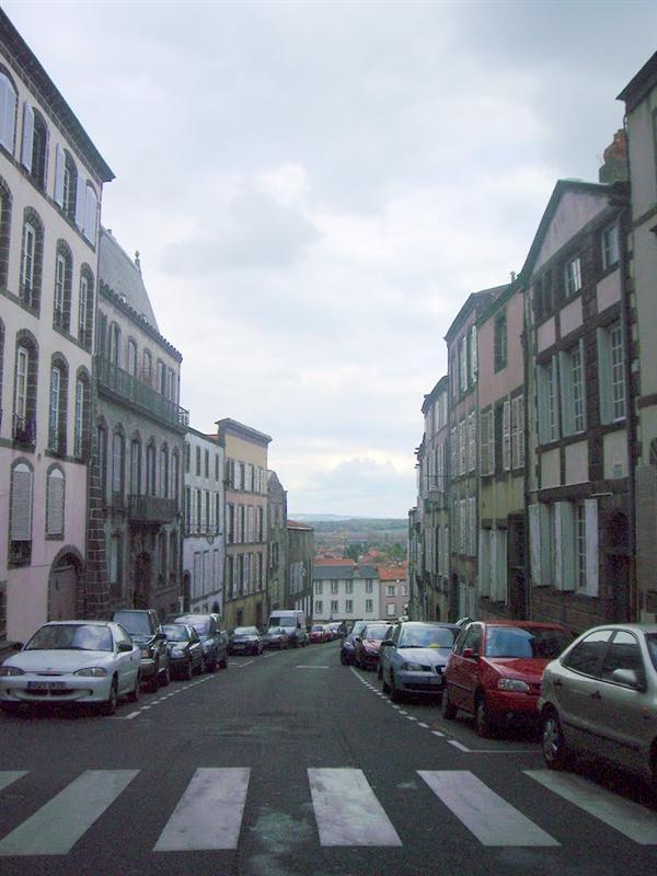 Riom的街道