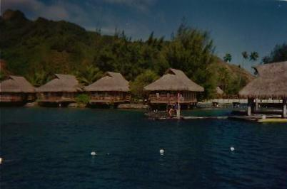 OVER THE WATER BUNGALOWS,MORREA
