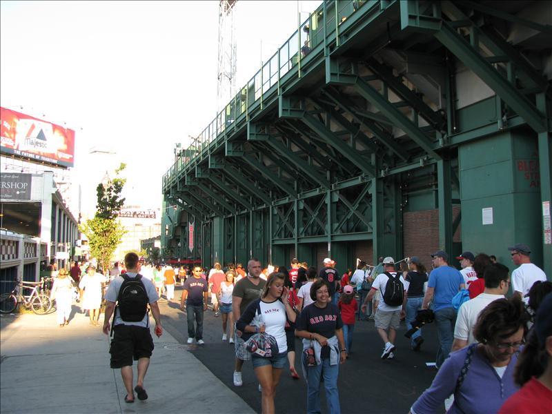 de volgende dag naar de Red Sox!!!!!