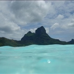 Bora Bora scenary 