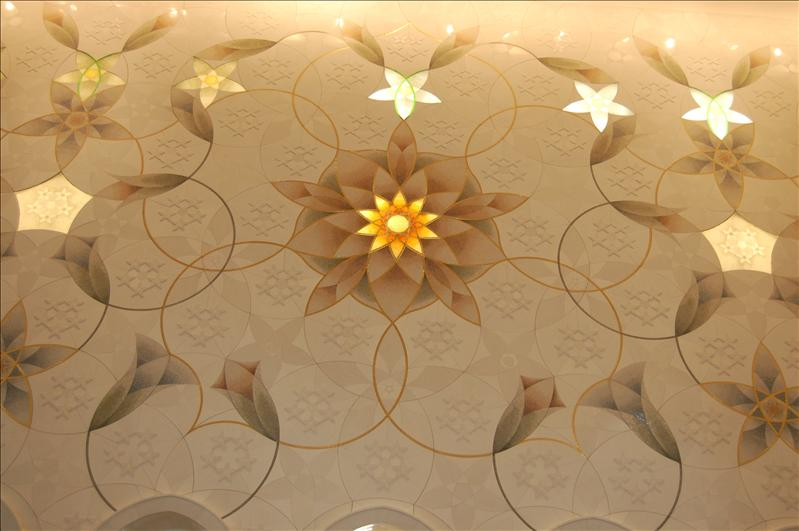Circle of Daisies wall design