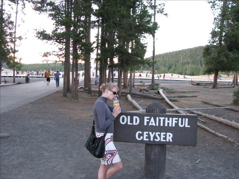 Yellowstone's hoofdattractie