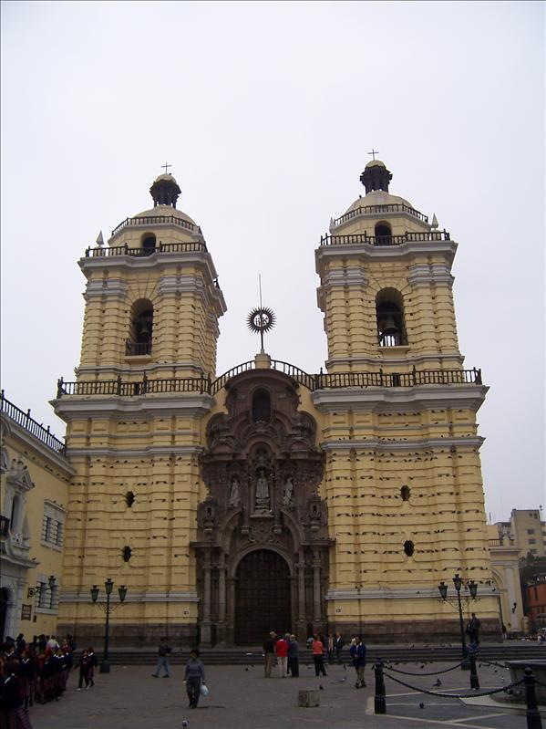 CHURCH OF ST FRANCIS, LIMA
