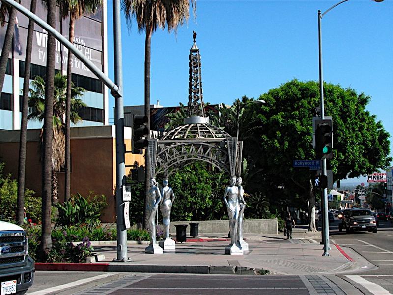 Hollywood Walk of Fame Start