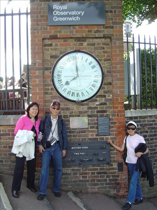 Royal observatory Greenwich (London)