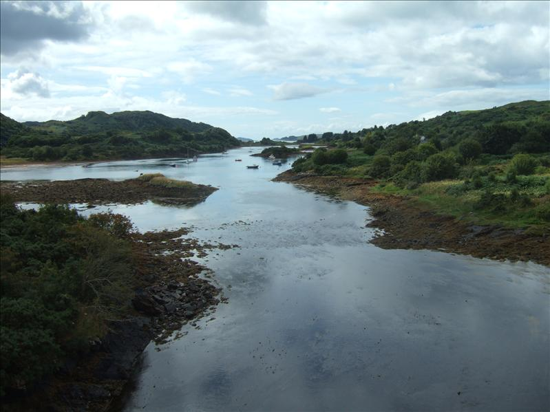 View from Clachan Bridge