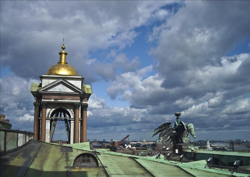 On the Top of St.Isaac's Cathedral