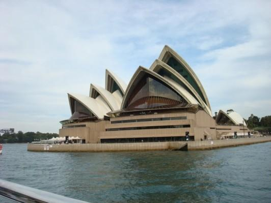 FROM SYDNEY HARBOR CRUISE