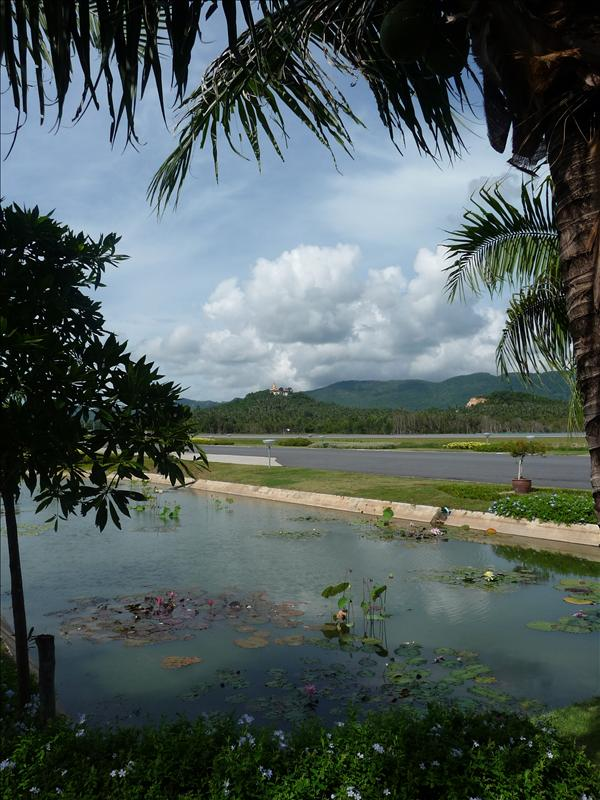 Gate 1 Samui Airport - view from my chair