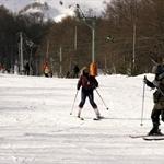 吃完午餐繼續滑雪