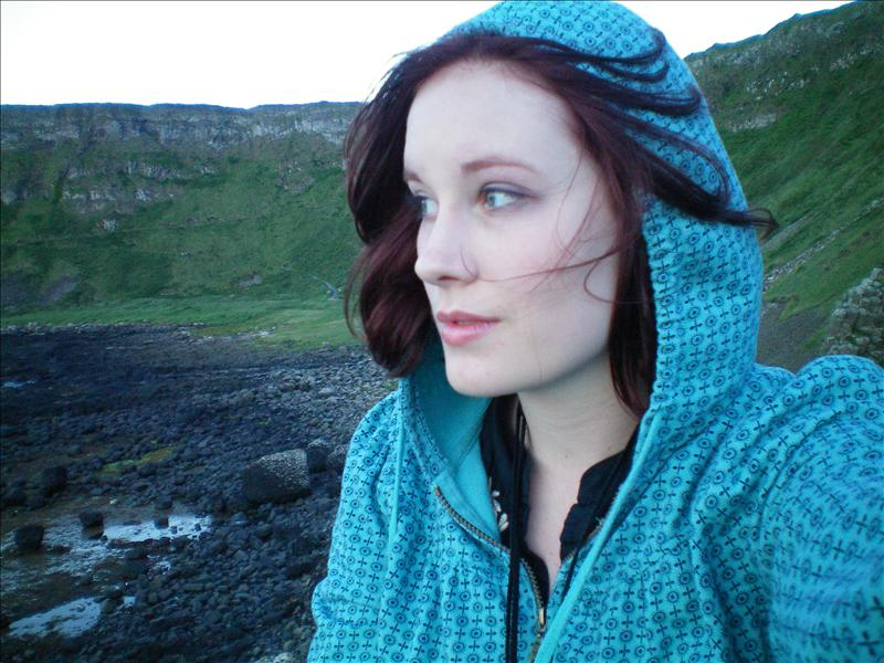 Rachel at Giants Causeway