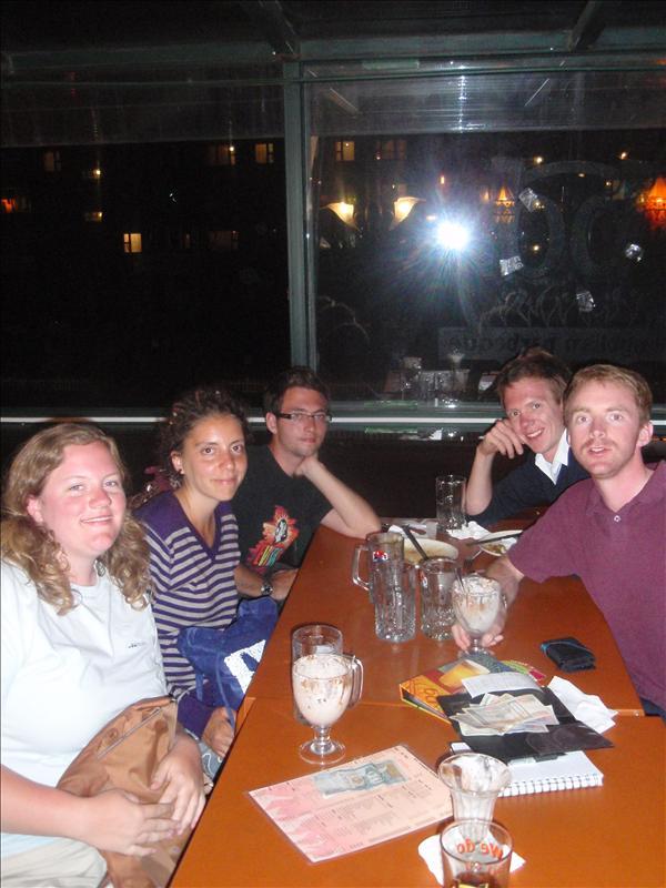 Aaron, Susanna, Daniel, Eryk & me