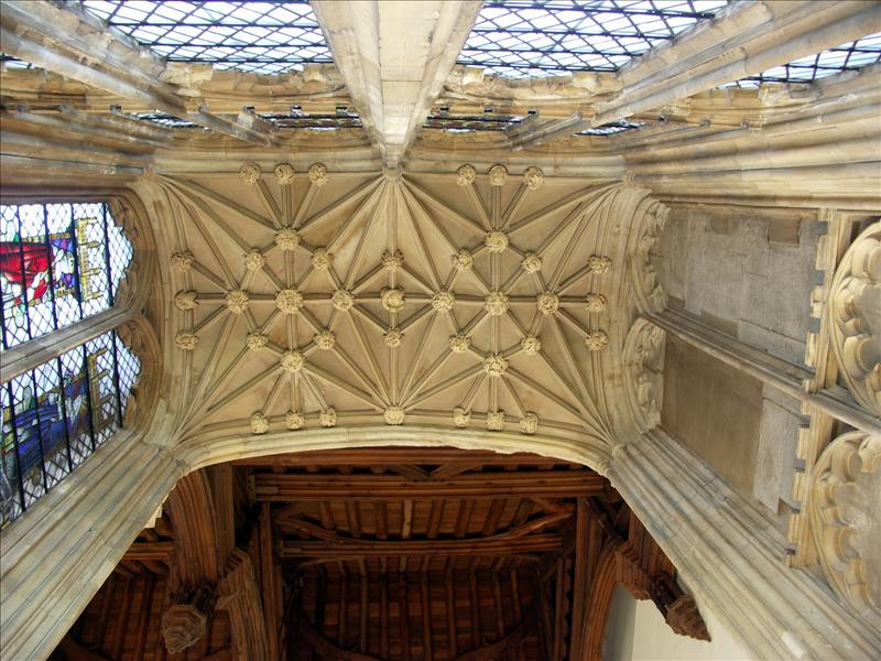 Carved ceiling