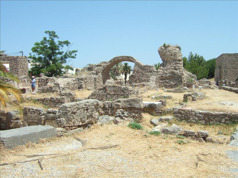 Kos Town - Archaeological Site