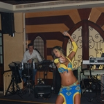 Belly Dancer at the restaurant