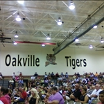 Inside Oakville High School Gymnasium