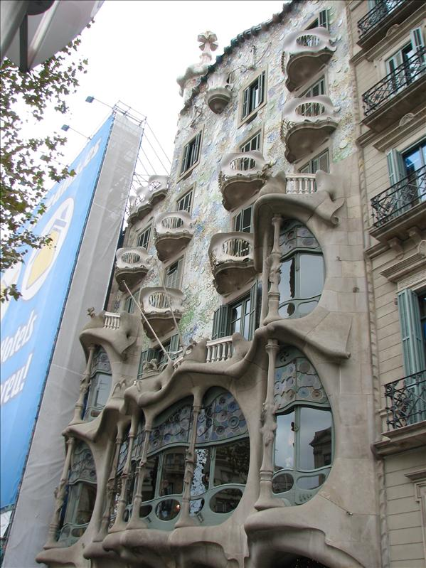 another Gaudi; Casa Batllo