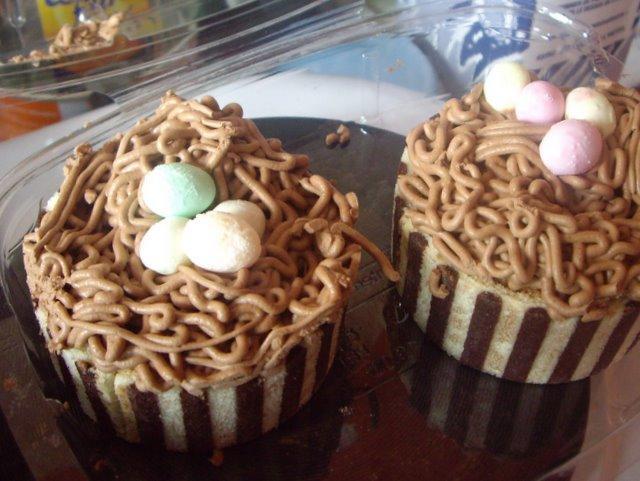 蛋糕特寫  (看起來就很甜…)