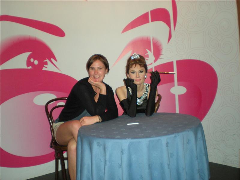 Audrey Hepburn, Madame Tussaude's Wax Museum - 20th May