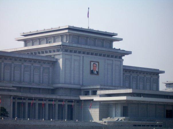 KUMSUSAN MEMORIAL PALACE - KIM IL SUNG'S MAUSOLEUM, PYONGYANG