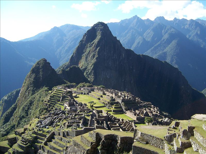 MACHU PICCHU - THE CLASSIC POSTCARD VIEW