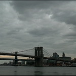 In NYC. A view from the South St Seaport