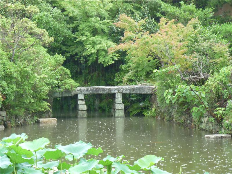 Roanji stone garden