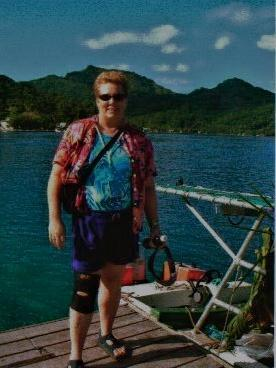 MARILYN IS READY FOR FULL DAY TOUR OF HUAHINE